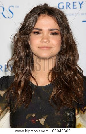 LOS ANGELES - JUN 1:  Maia Mitchell at the 7th Annual Television Academy Honors at SLS Hotel on June 1, 2014 in Los Angeles, CA