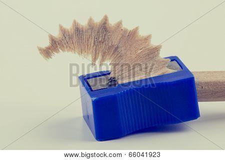Sharpening Wooden Pencil