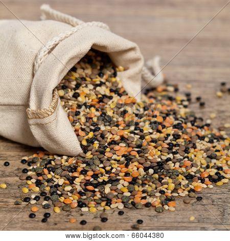 Lentils mix