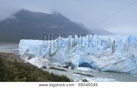 Perito Moreno Glacier. Patagonian Landscape. Argentina
