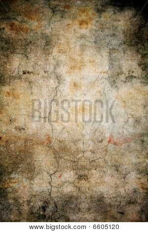 Grunge Abstract Cracked Wall Background