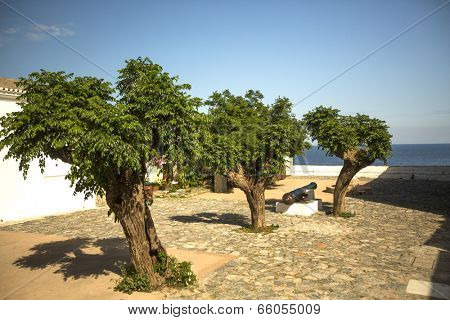 Medieval era fortified of Monemvasia, Greece.