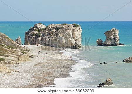 Rock Of Aphrodite, Cyprus, Europe
