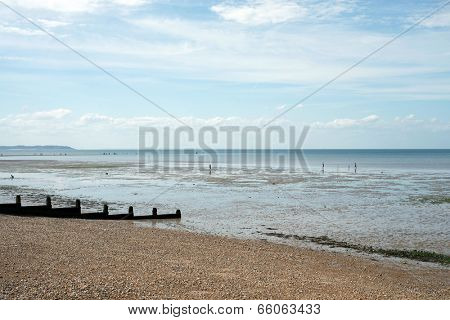 English beach in Whitstable