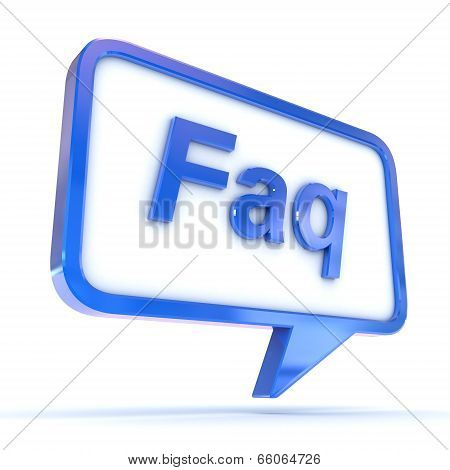 Speech Bubble Faq