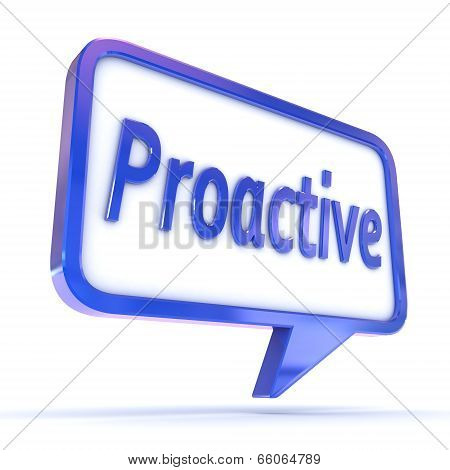 Speech Bubble Proactive