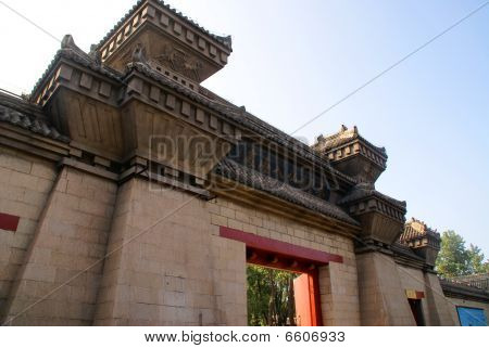 The Chinese architecture
