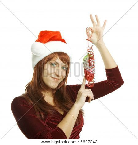 The Woman In A Christmas Cap