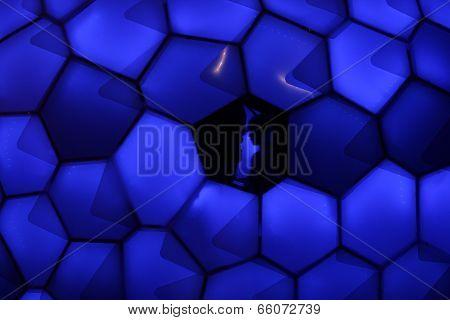 Cellular Tessellation At Vivid Sydney