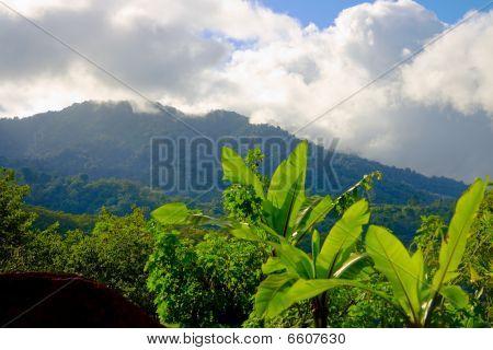 Montanhas em San Jose, Costa Rica