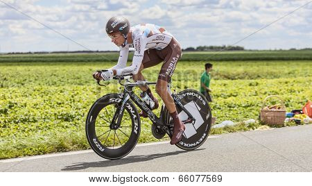 The Cyclist Mickael Cherel