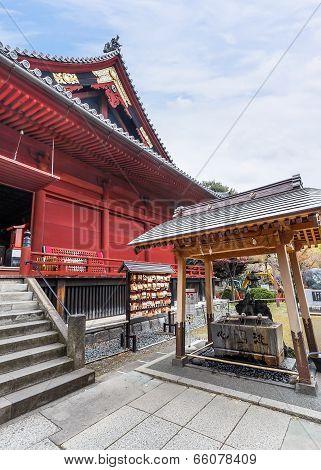 Kiyomizu Kannon-do Temple at Ueno Park in Tokyo
