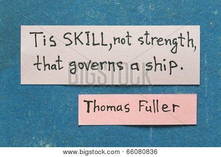 Tis Skill