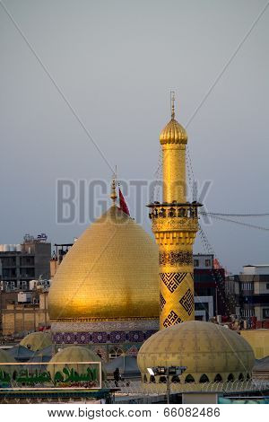 The shrine of Imam Abbas