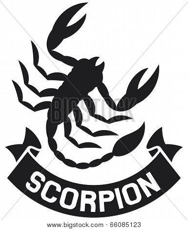 scorpion label