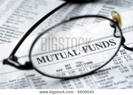 Focus on mutual fund investing on the newspaper