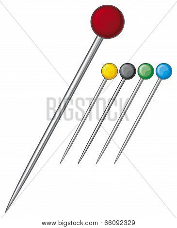 sewing pins collection
