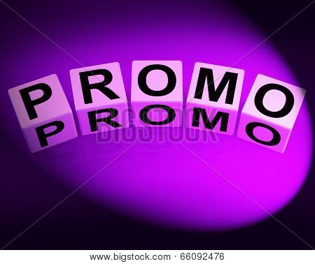 Promo Dice Show Advertisement And Broadcasting Promotions