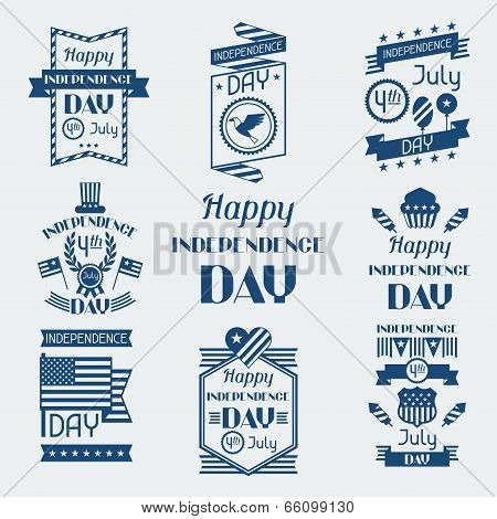 United States of America Independence Day greeting card.