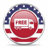 picture of free-trade  - free delivery american icon - JPG