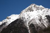 image of oz  - Mountain around the Oz en Oisans Station in the French Alps - JPG