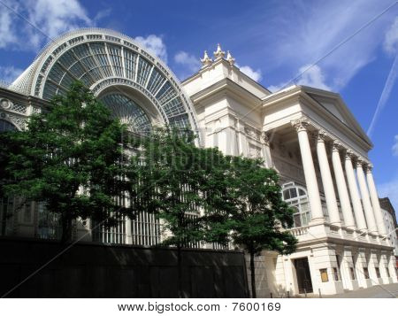 Royal Opera House and the Floral Hall