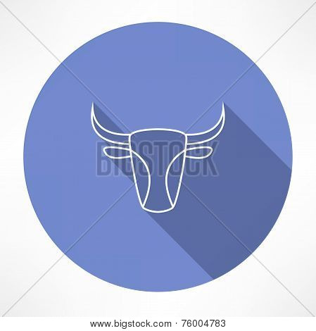 bull's head icon