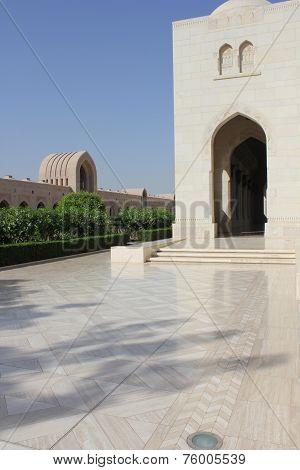 The Sultan Qaboos Grand Mosque, external