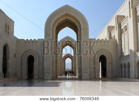 Sultan Qaboos Grand Mosque, external