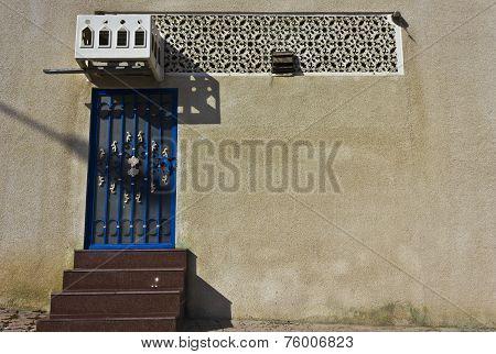 Traditional Omani Door