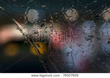 Rain And Glass