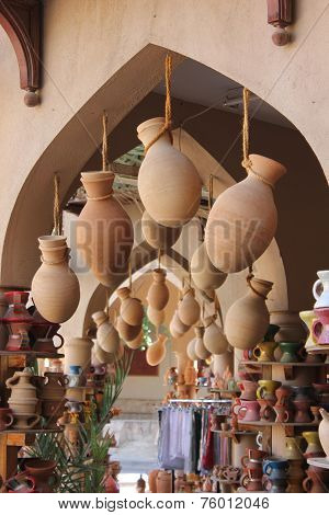 Souvenir Shop In Nizwa, Oman