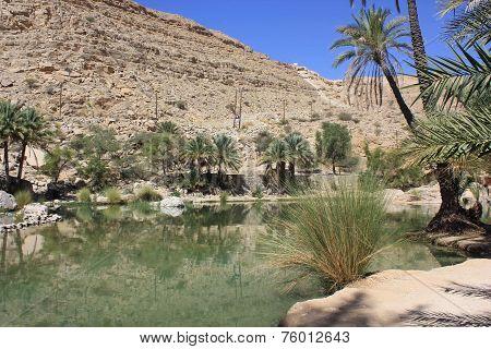 Moqul Cave In Wadi Bani Khalid