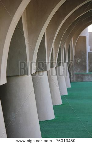 Al Samooda Mosque, Architectural detail