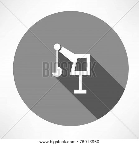 hoisting crane icon