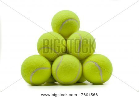 Stacked Tennis Balls