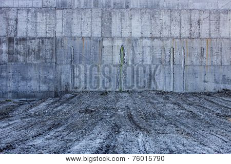 Grey Concrete Wall