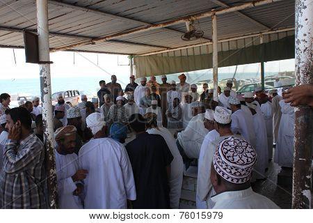 Daily Fish Market In Barka, Oman