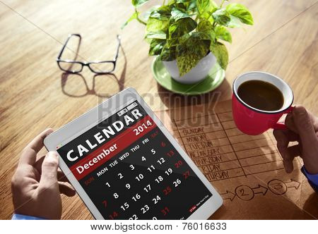 Calendar Contemporary Digital Device Concepts