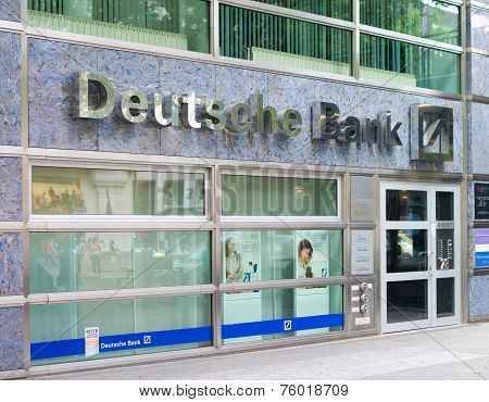 Deutsche Bank Branch In Berlin