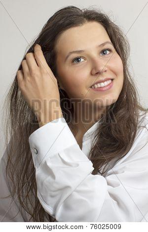 Smiling Girl's Portrait