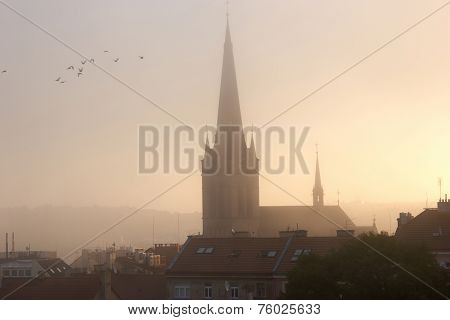 Church At Dawn
