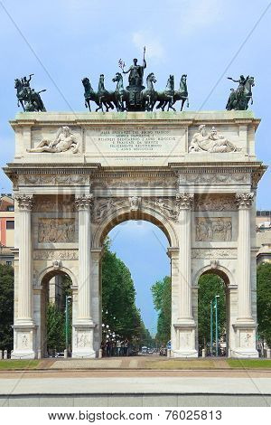 Arch of Peace in Milan