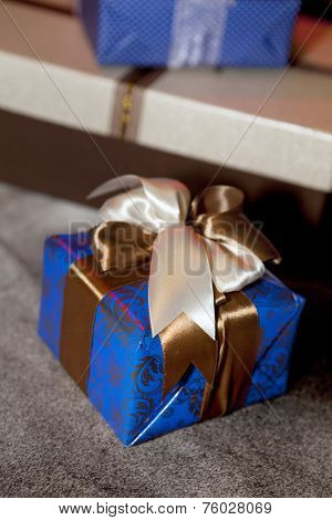 Christmas gift boxes not for long before celebration