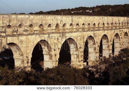 Old Bridge In France