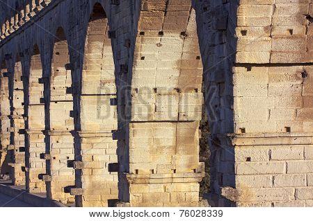 Old Bridge Detaisl - Pont Du Gard