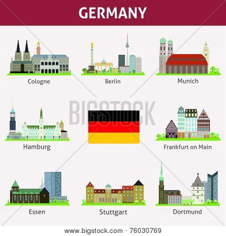 Cities in Germany