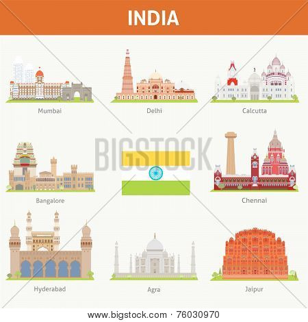 Cities in India