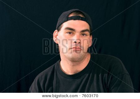Tough Guy In Black