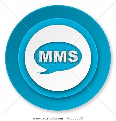 mms icon, message sign